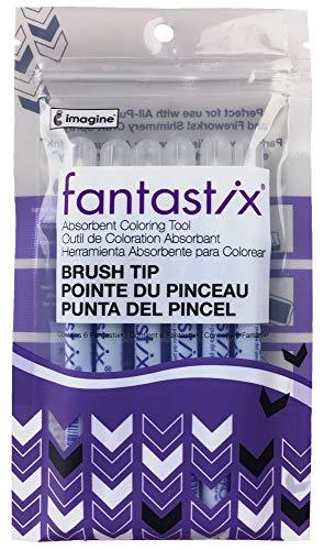 Tsukineko Pacote com 6 pontas de pincel Fantastix, para todas as finalidades