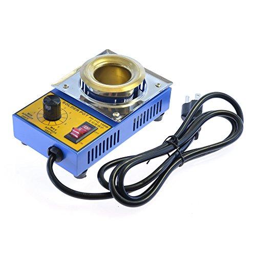 KLT-360 Solder Pot Titanium Alloy Soldering Melting Tin 38mm AC 110V 100W