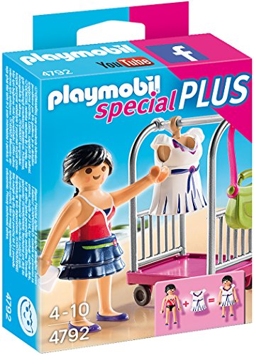 PLAYMOBIL - Modelo con Perchero (47920)