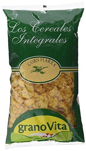 Granovita Corn Flakes sin Azucar Cereales - 350 gr - Pack de