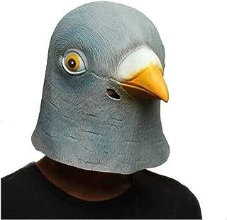 WXYXG Halloween Costume Party Latex Animal Head Mask Pigeon Cosplay