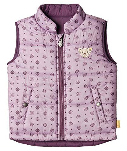 Steiff Weste Veste sans Manche, Violet (Lavender Mist 7020), 86 Bébé Fille