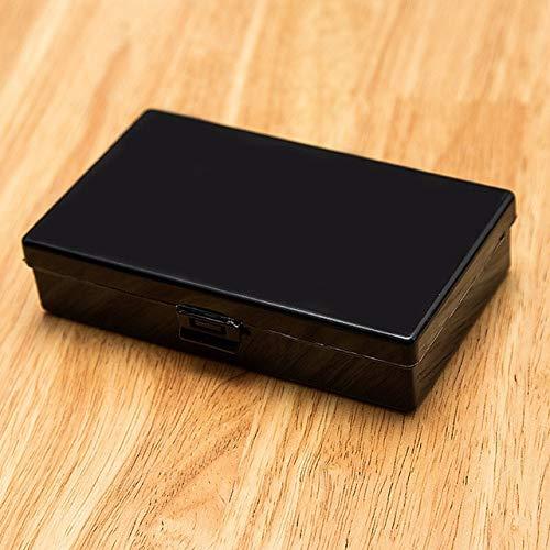 DIU Caja de plástico Rectangular con Tapa Componente Paquete Caja de Almacenamiento Caja Transparente Contenedor de joyería Equipo de Pesca Caja de Piezas B: Amazon.es: Hogar