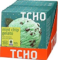 "TCHO CHOCOLATE Dark Chocolate ""Mint Chip Gelato"" 12個セット [並行輸入品]"