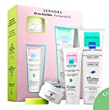 SEPHORA COLLECTION The Essentials Kit: Clean Skin Gel, All Day Hydrator, Purifying Mud Mask
