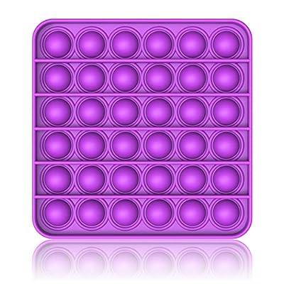 Bdwing Silicona Sensorial Fidget Juguete, Push Pop Bubble Sensory Toy, Autismo Necesidades Especiales Aliviador del Antiestrés del Juguetes para Niños Adultos Relajarse de Bdwing