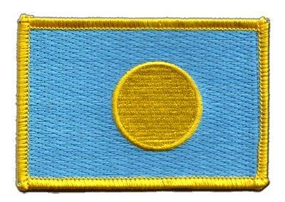 Aufnäher Patch Flagge Palau - 8 x 6 cm