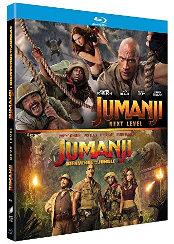 Jumanji : Bienvenue dans la Jungle + Next Level [Blu-Ray]