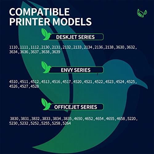 Cartucho de tinta remanufacturado para HP 302XL 302 XL (1 color) compatible con impresoras DeskJet 2130 3636 3634 OfficeJet 3830 5232 3831 5220 3833 Envy 4525 4527 4520