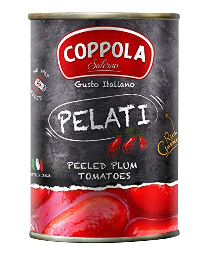 Coppola Peeled Plum Tomatoes in Rich Tomato Juice 400g (Pack...