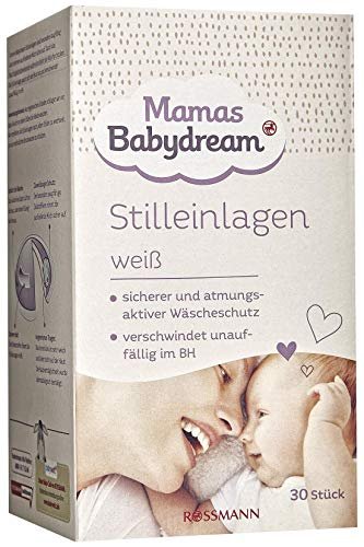Mamas Babydream - Discos para lactancia, color blanco