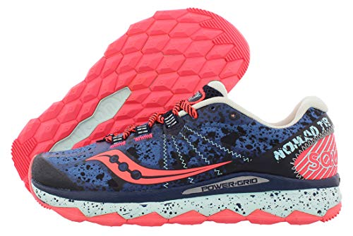 Saucony Women's Nomad TR Trail Running Shoe, Blue/Navy, 9.5 M US