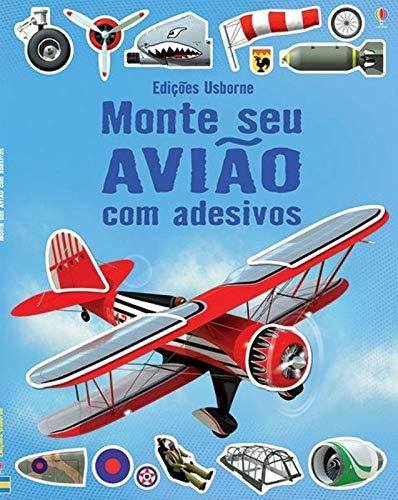 Monte seu avião com adesivos