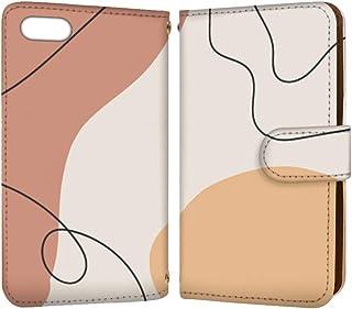 anve iPhone7Plus iPhone 7 Plus 国内生産 カード スマホケース 手帳型 Apple アップル アイフォン セブンプラス 【D】 シンプル 大人 ペイント best_vc-902