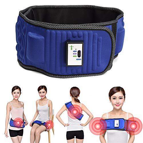 BCQ Elektrische Schlankheitsgürtel Bauchfett Verbrennen Gürtel, Massage Gürtel, Fitnessgürtel, Sportverletzungen verhindern und Schmerzen lindern