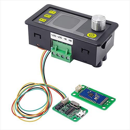 ARCELI Konstantspannungsstrom DC / DC-Abwärtskommunikation Stromversorgung Buck Spannungswandler LCD-Voltmeter 50 V 20 A (DPS3005 + USB + BT)