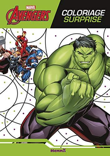 By Disney Marvel Avengers Coloriage Surprise Pdf Epub Lire