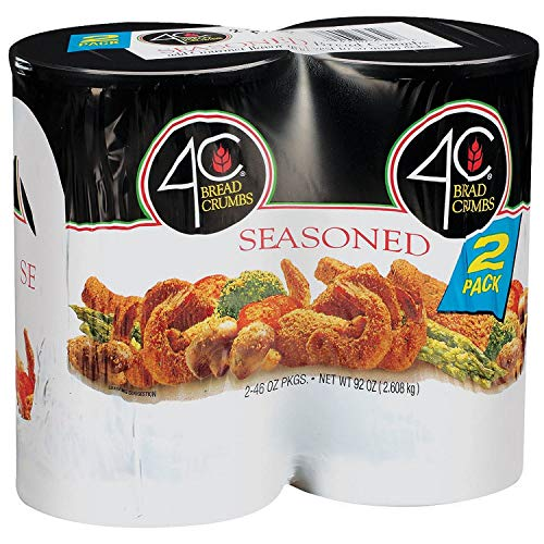 4C Seasoned Bread Crumbs - 2/46 oz. vevo