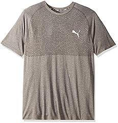 Puma Camiseta Manga Corta Hombre Deportiva Gris