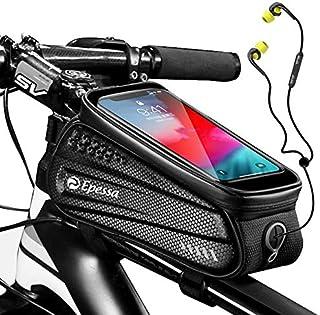 Epessa Bike Phone Mount Bag,Bicycle Waterproof Front...