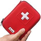Botiquín de Primeros Auxilios de 100 piezas - Bolsa Médica de Emergencia Completa...