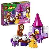LEGO DUPLO Princesa - Fiesta de Té de Bella, Juguete de Construcción de la Bella y la Bestia con...