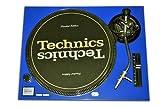 Technics Blue Face Plate for Technics SL-1200 / SL-1210 MK2 Turntables