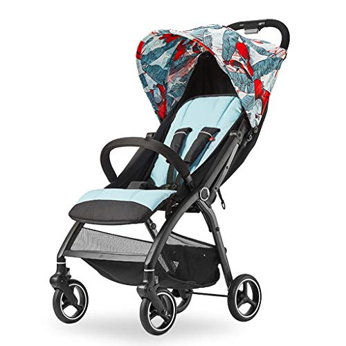 Jiji Babywagentje Baby Kinderwagen Draagbare Opvouwbare Licht Gewicht Baby Buggy Land Op Vliegtuig Pushchair Pram Kan Zitten Kan Lie Baby Carriage Babywagen