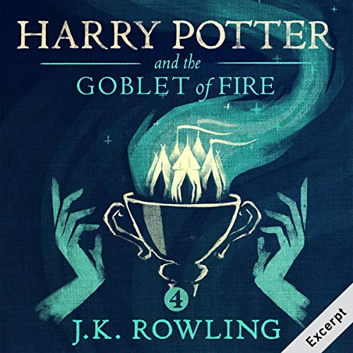 Couverture de Harry Potter and the Goblet of Fire, Book 4 (Excerpt)