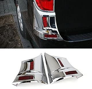 HSM Chrome Rear Bumper Side Cover Molding Garnish 2-pc Set For 07 08 09 10 11 Hyundai i800 : iMax H1 Starex