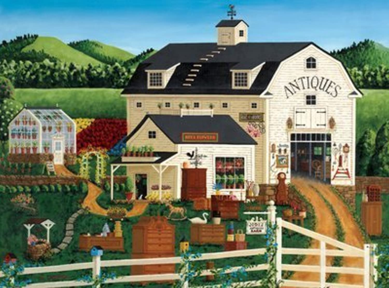 Art Poulin  Jodi's Antique Barn by Buffalo Games