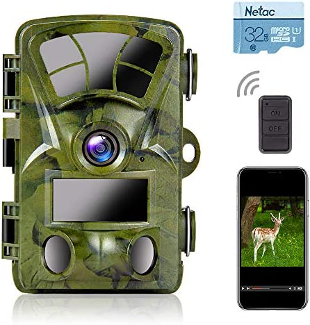 Ctronics 4K Trail Camera WiFi 20MP Wildlife Game Camera Built in WiFi with Night Vision Motion product image