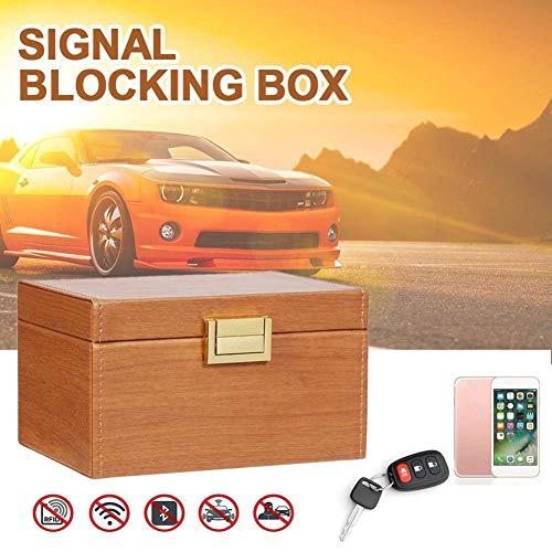 Ying-feirt auto sleutel signaal blokkeren doos zak, Faraday doos RFID-blokker geval, sleutelloze auto's beveiliging Anti diefstal grote opbergdoos, RFID/WIFI/NFC Blocker
