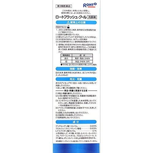 【第3類医薬品】ロートフラッシュクール500mL