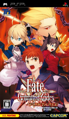 Fate Unlimited Codes Portable