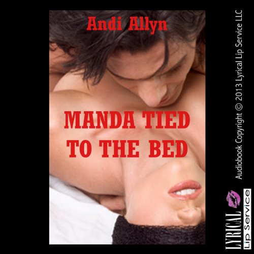 Manda Tied to the Bed audiobook cover art