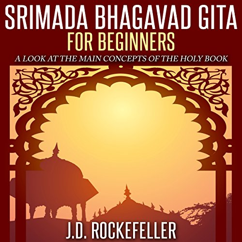 Srimada Bhagavad Gita for Beginners audiobook cover art