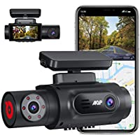 AQP Dual 1080P Inside Cabin Dash Camera With WiFi GPS