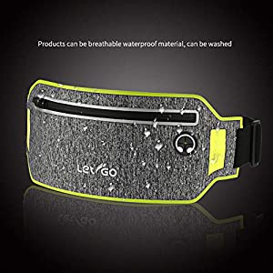 iPhone 11 Running Belt iPhone 8 Plus Waistband Sweatproof Running Pouch Belt for iPhone Xs/Max/XR/iPhone 7 Running Fanny Packs for Women & Men, Reflective Waist Pack Belt