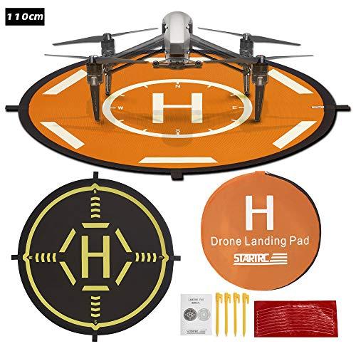 Drones Landing Pad,TOMAT Universal Waterproof Portable Foldable Landing Pads for DJI Inspire 2/1/Phantom 4 RTK/Matrice 200/300 RTK/600 Pro/H480
