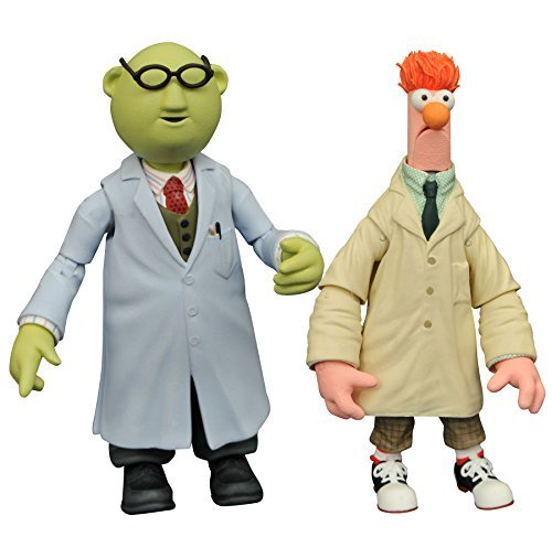 The Muppets JAN168644 Select Series 2 Beaker and Bunsen Action Figure by Muppets