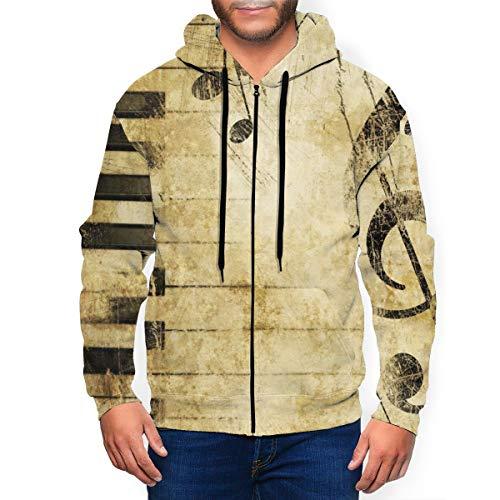chenaa Wei Kleidung Herbst und Winter sowie Samtjacke Herren M Dark Grey,Herren Kapuzenpullover – Sweatshirt Pullover Rundhals – Langarm – Slim – Fit – Training – Hoodie – Pulli