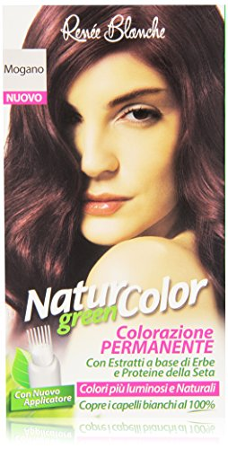 teinture pour les cheveux coloration permanent naturel natur color greenacajou acajou