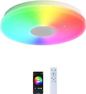 TLOLGT シーリングライト Alexa対応 音色操作 ~6畳 LEDシーリングライト リモコン付き 28W 調光・調色タイプ スマートライト 明るさメモリ 省エネ 取付簡単 照明器具 子供部屋 バスルーム PSE認証
