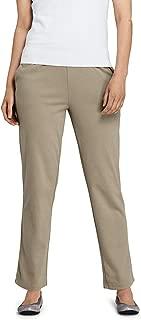 Women's Sport Knit High Rise Elastic Waist Pull On Pants XL TAN