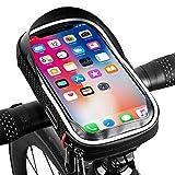 Plartree Bolsa Bicicleta Impermeable, Soporte Móvil Teléfono para Ciclista Ciclismo Pantalla Táctil, Menos de 6,5 Inches