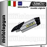 ARROW SCARICO OMOLOGATO INDY-RACE ALLUMINIO FONDELLO CARBY COMPATIBILE CON YAMAHA YZF 1000 R1 2020 20