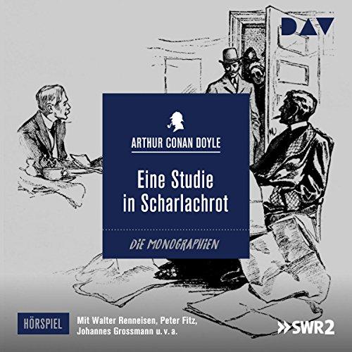 Eine Studie in Scharlachrot audiobook cover art