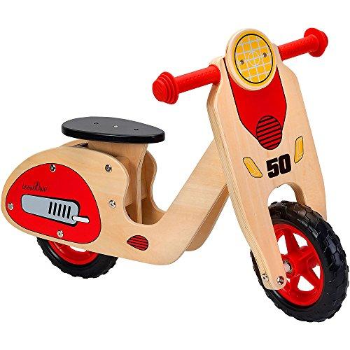 Legnoland 37723 - Scooter in Legno con Sellino Regolabile