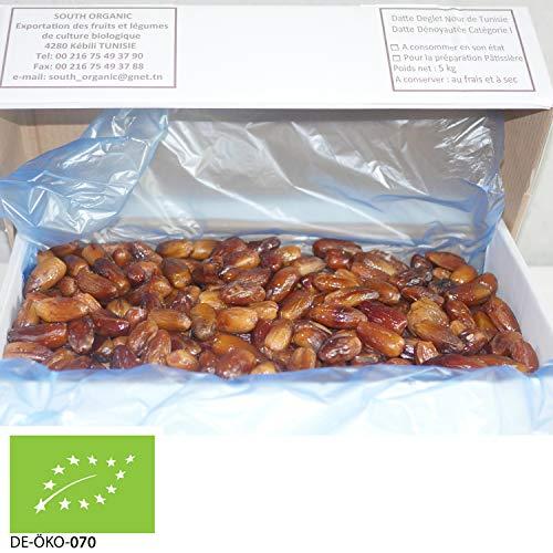5kg Bio dattes Deglet Nour sans noyau | fourrés | basic | sans additifs | VEGAN | fruité, miel doux, goût aromatique | STAYUNG
